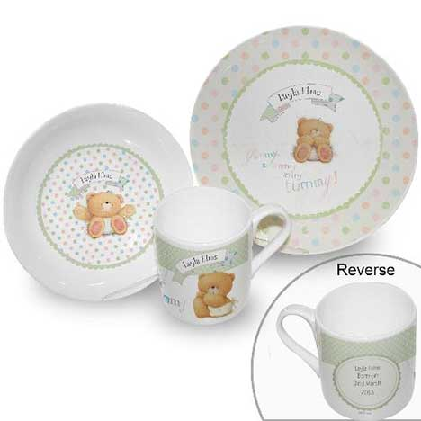 Personalised Forever Friends Baby Breakfast Set  sc 1 st  Forever Friends & Personalised Forever Friends Baby Breakfast Set | Forever Friends ...