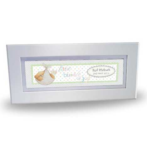 Personalised Forever Friends Baby Name Frame
