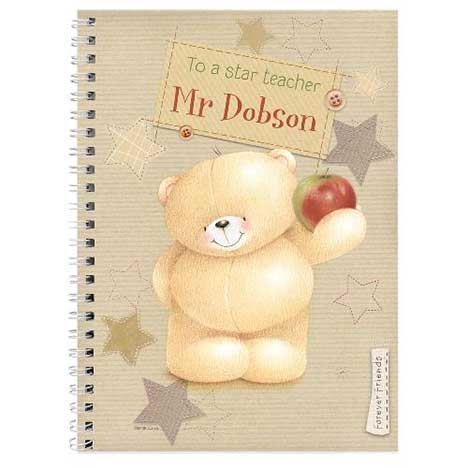 Personalised Forever Friends Teacher Diary