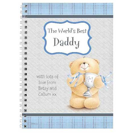 Personalised Forever Friends No1 Trophy A5 Notebook