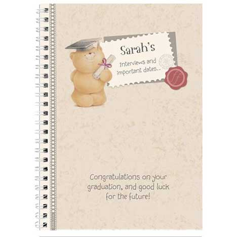 Personalised Forever Friends Graduation Diary