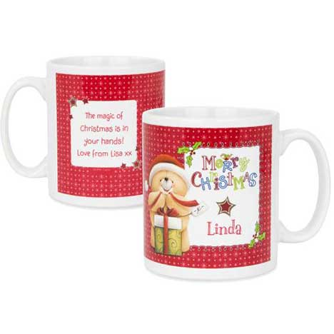 Personalised Forever Friends Christmas Mug