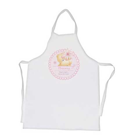 Personalised Forever Friends Big Flower Apron