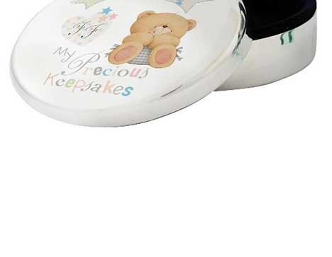 Personalised Forever Friends Baby Trinket Box