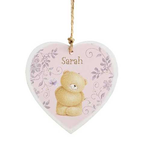 Personalised Forever Friends Wooden Heart