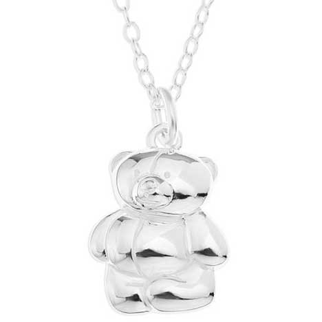 Sterling Silver Forever Friends Pendant