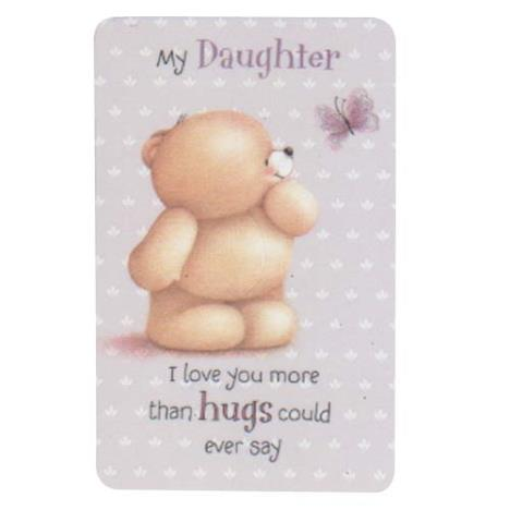 Daughter Forever Friends Wallet Card