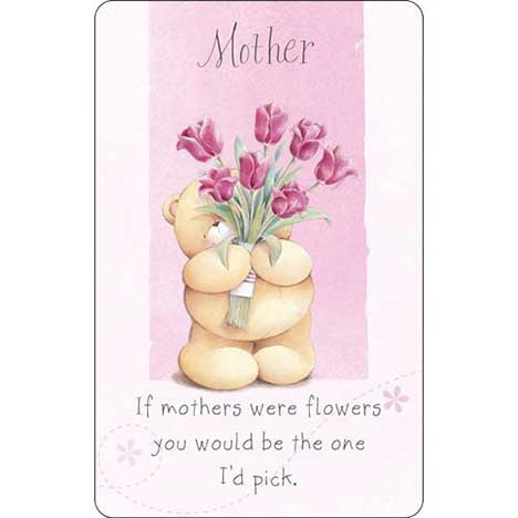 Mother Forever Friends Wallet Card